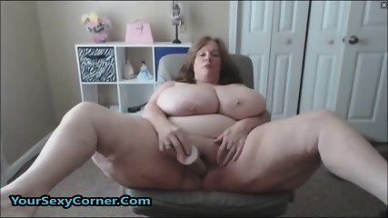 BBW Granny Has The Biggest Natural Saggy Tits In USA - scene 10