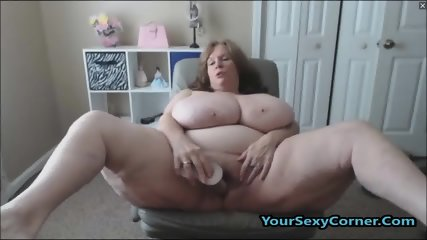 BBW Granny Has The Biggest Natural Saggy Tits In USA - scene 11