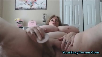 BBW Granny Has The Biggest Natural Saggy Tits In USA - scene 12