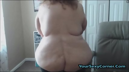 BBW Granny Has The Biggest Natural Saggy Tits In USA - scene 7