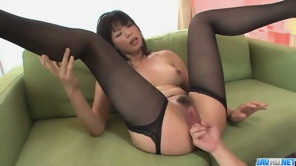 Hottie Saki Aoyama asian girl giving blowjob and fucking - More at javhd.net