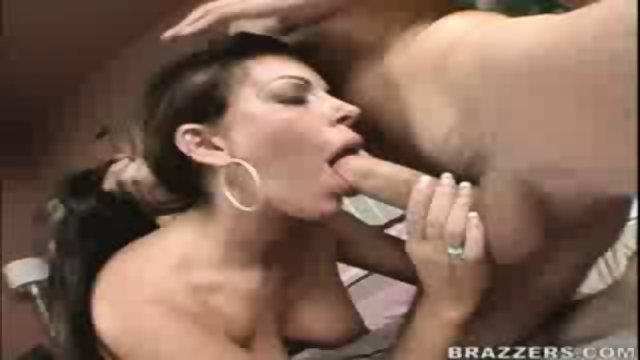 Victoria Valentino brings home a big cock and fucks it.