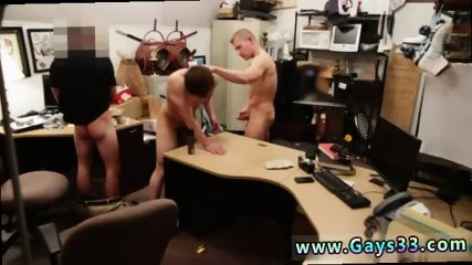 Straight man gay boy poppers rim chair He sells his tight arse for cash