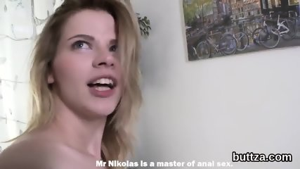 Fantastic tight chick gets her tight hole and little butt hole screwed
