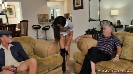 Oily hardcore anal first time Riding the Old Wood!