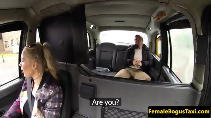 Milf cabbie rides cock like a pro