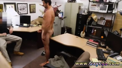 Straight guys cum on each other game and mixed boy giving blowjob gay Straight stud goes