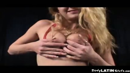 Double Plugged Latina - scene 1