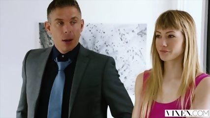 VIXEN Nympho Has Sex With Her Therapist - scene 2
