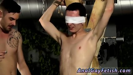 Muscle bondage gay Reece is the unwilling blindfolded victim, with Adam wanking and