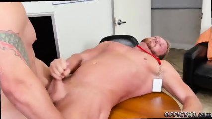 Straight guys grinding and well hung nude fat men cumming gay First day at work