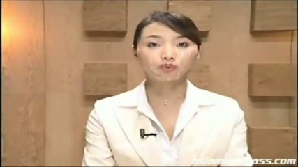 Japanese newscaster part 3 - scene 9