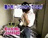 Breast feeding a Cat - scene 11