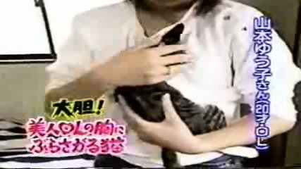 Breast feeding a Cat - scene 5