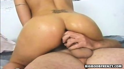 Brooke, glamourous blondie gets her asshole filled - scene 4