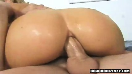 Brooke, glamourous blondie gets her asshole filled - scene 6