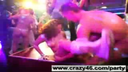 Girls Get Drunk and Go Wild at Male Strip Club - scene 12
