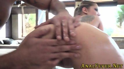 Round ass fucked skank