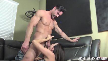 Busty Slut Fucked On Couch - scene 1