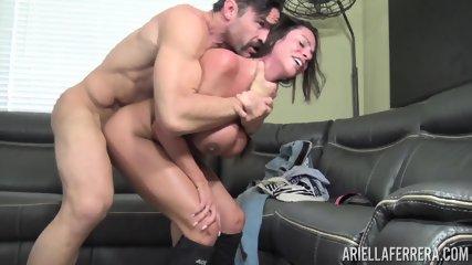 Busty Slut Fucked On Couch - scene 6