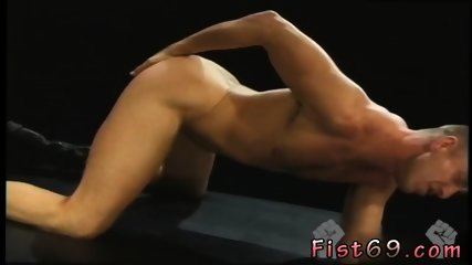 Penis bondage and anal fisting college guys get fisted gay Club Inferno s own
