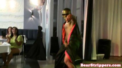OMG my gf gets sprayed with strippers jizz