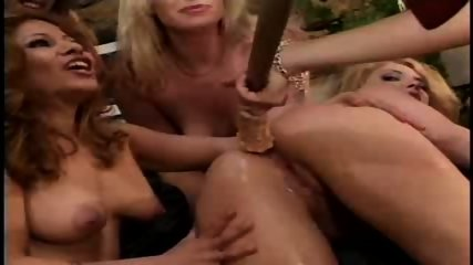 Hardcore lesbian gangbang - scene 1