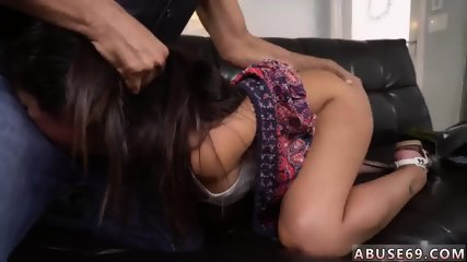 Teen riding dildo library and brutal double first time Rough ass fucking bang-out for