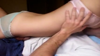 Asian Amateur Sucks Dick & Gets Fucked - scene 2