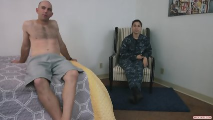 Navy Chick Decided To Do Porn In Her Uniform - scene 3