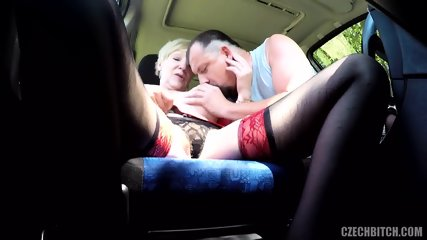 Real Slut Fucked In Car - scene 2