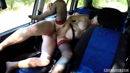 Real Slut Fucked In Car - scene 6