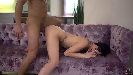 Big Dose Of Pleasure For Nice Brunette - scene 12