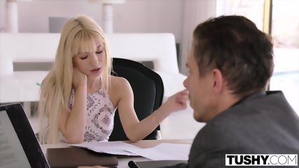 TUSHY College Student Craves Anal From Professor - scene 3