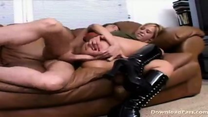 Georgia gets ass rammed on the couch - scene 5