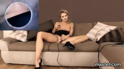 Wicked czech sweetie spreads her tight fuckbox to the special