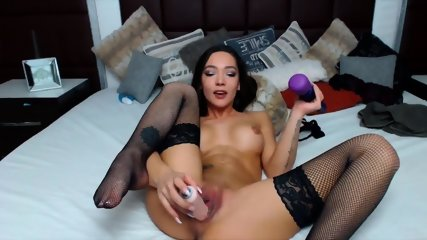 European Babe Pounds Creamy Pussy - scene 12