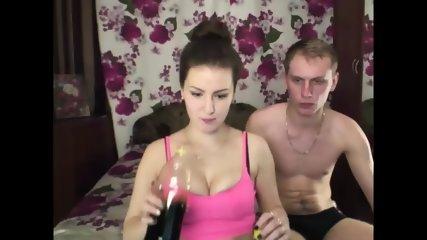 Teen Couple Playing On Webcam - scene 3
