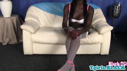 Brooke is one hot black shemale and she loves to suck cock!