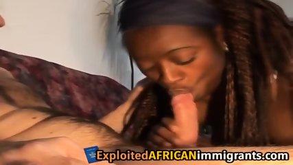 White guy exploits African girl s slit