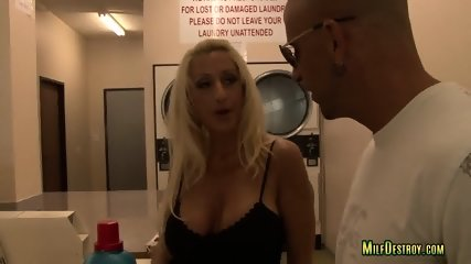 Cocked Guy Banged a Busty Milf - scene 1