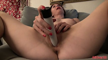 Mature Lady Uses Vibrator - scene 9