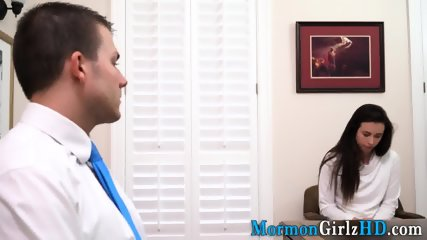 Amateur mormon creampied