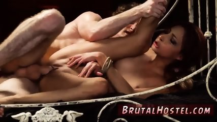 Teen female multiple orgasms starts humping her lil honeypot in his decrepit bed.