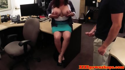 Busty milf pawnee fucked and facialized - scene 6