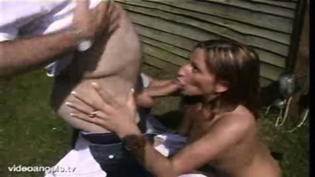 UK Babe Fucked Hard Outdoors