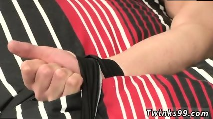 Young gay fem bottoms A Ball Aching Hand Job!