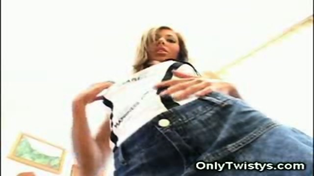 Beautiful Bridgette Stripping