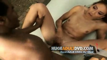 Interracial action! Hard Black Cock Fucks Squirting Asian - scene 8
