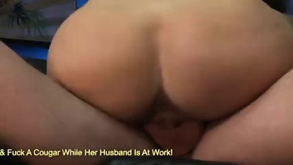 Round breast Holly West ass jumping on hard cock
